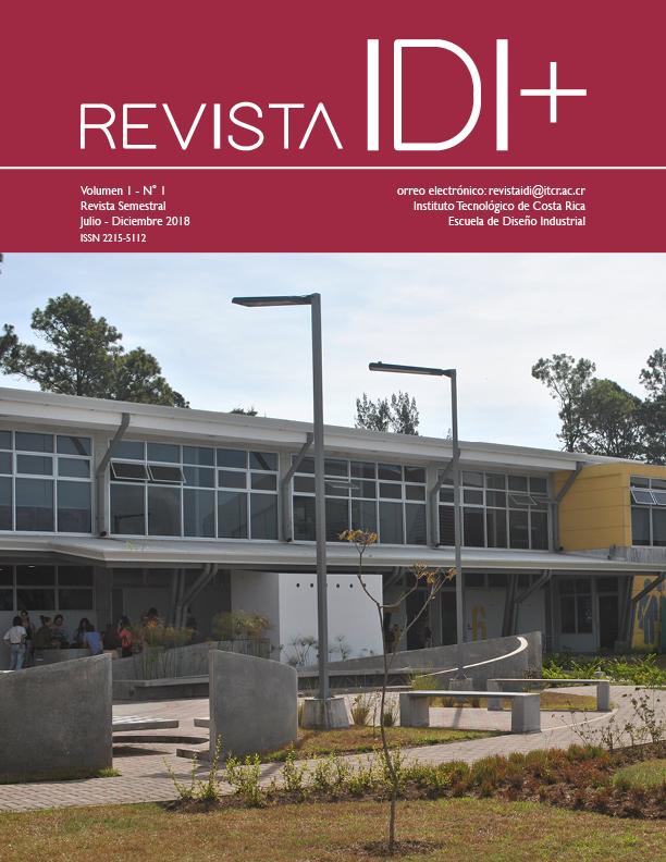 Portada Volumen 1 Número 1 Revista IDI +