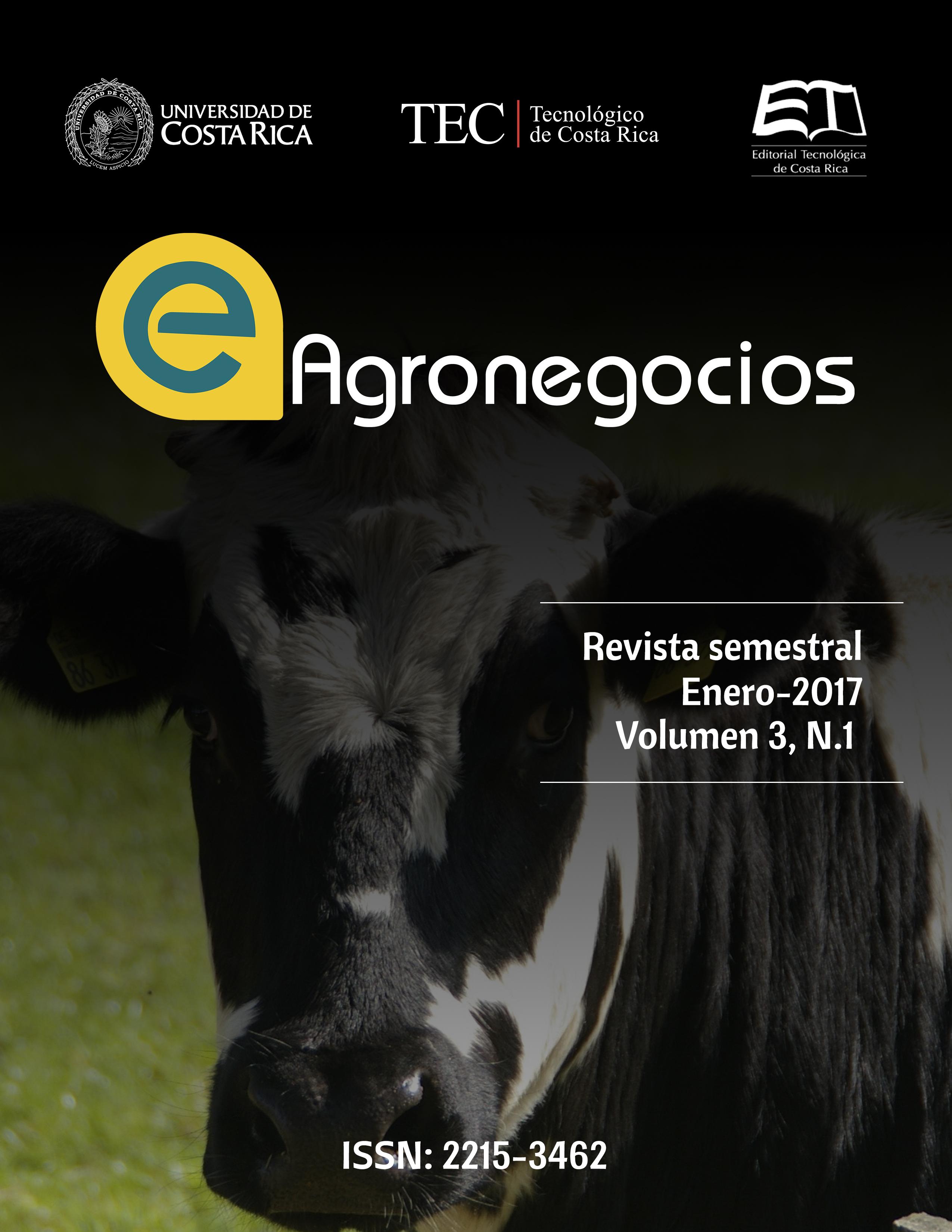 Producción Y Productividad De Ganado Vacuno De Carne Y De Leche En Costa Rica De 1984 A 2014 E Agronegocios